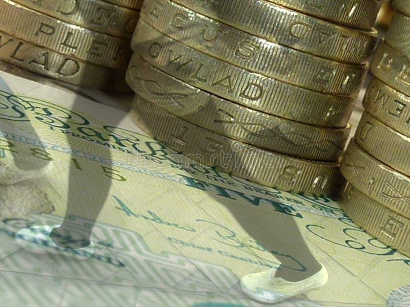 Financierende klanten royalty-vrije stock afbeelding
