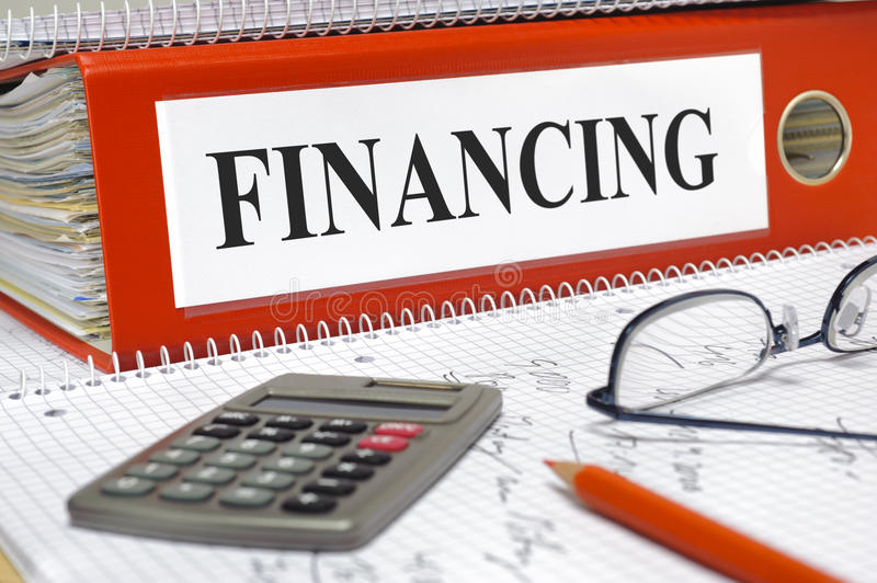 Financing stock images
