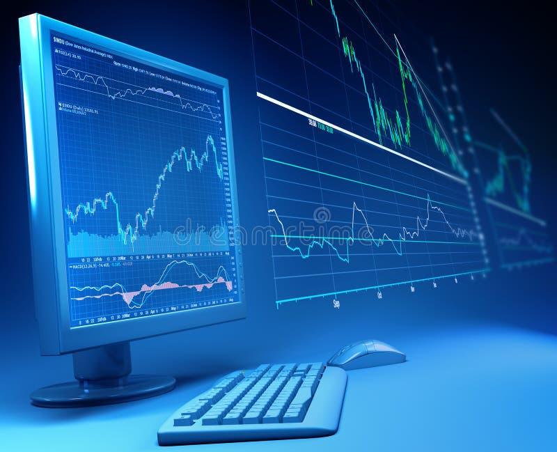 finans stock illustrationer