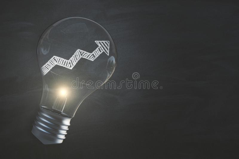 Finans-, framgång- och idébakgrund stock illustrationer