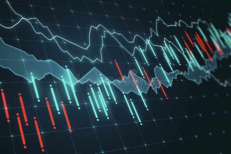 Finans och materielbegrepp vektor illustrationer