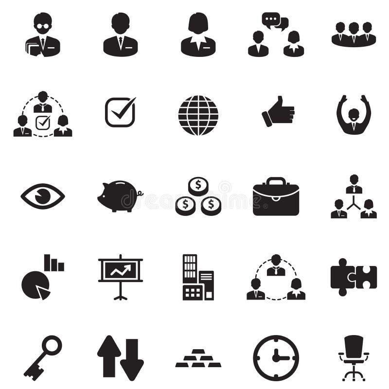 Finanse, biura & biznesu ikony, royalty ilustracja