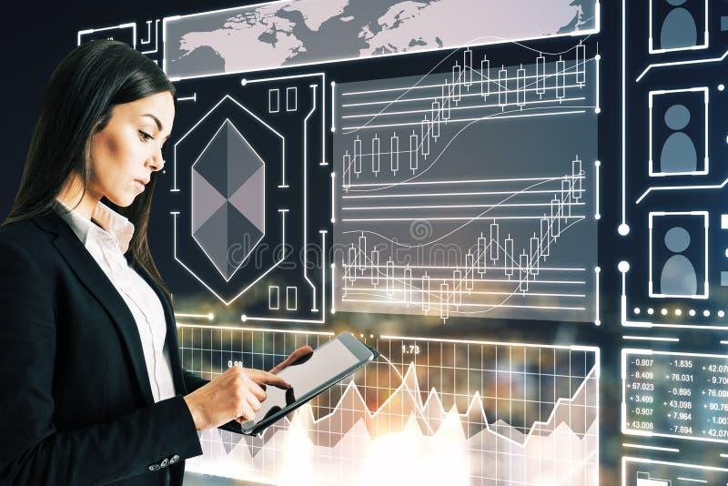 Finanse i technologii poj?cie obrazy stock