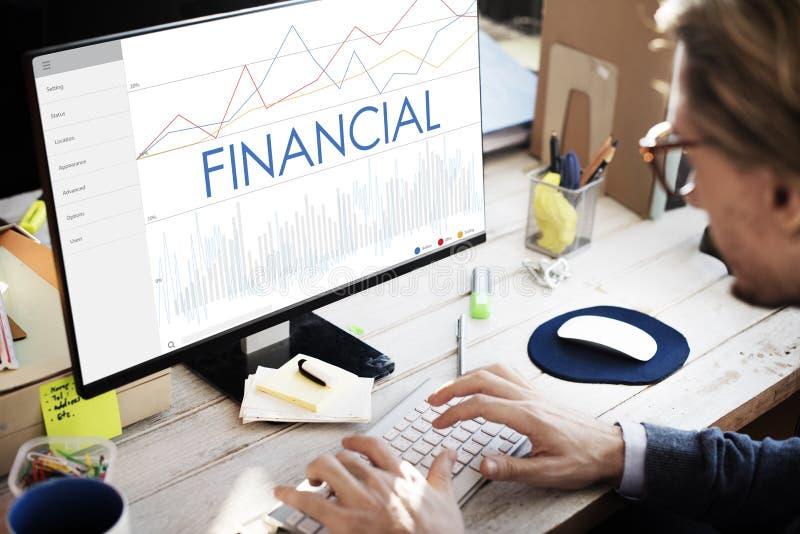 Finansförtjänstrikedom investerar tillgångbegrepp arkivfoton