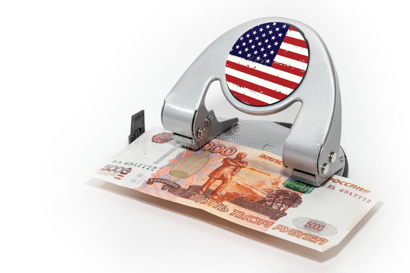 Finansial危机 免版税库存图片