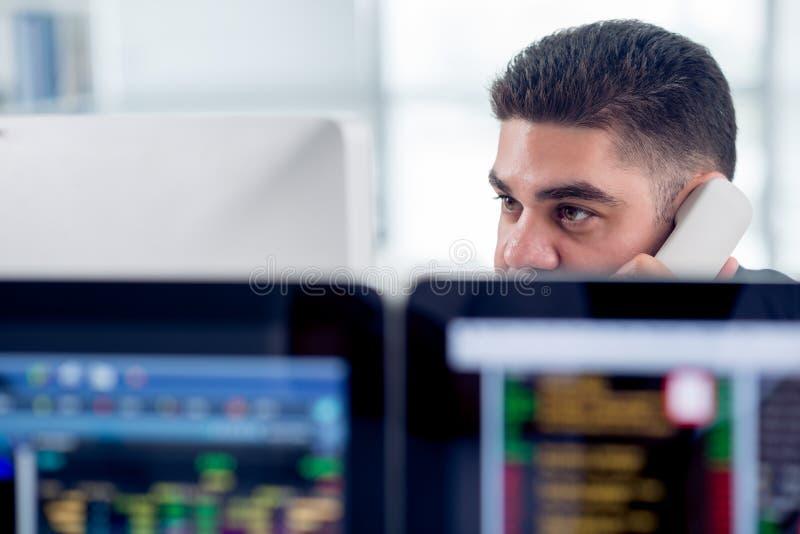 Finansiell analytiker arkivfoto