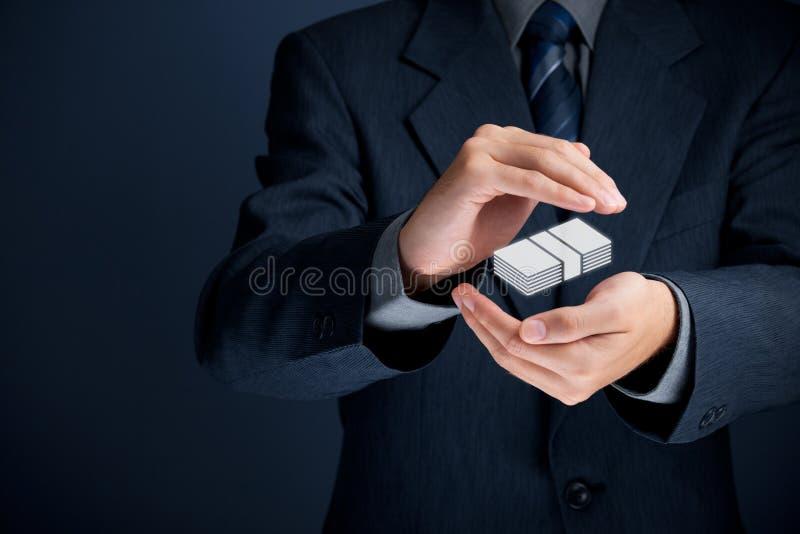 Finansiell försäkring arkivbilder