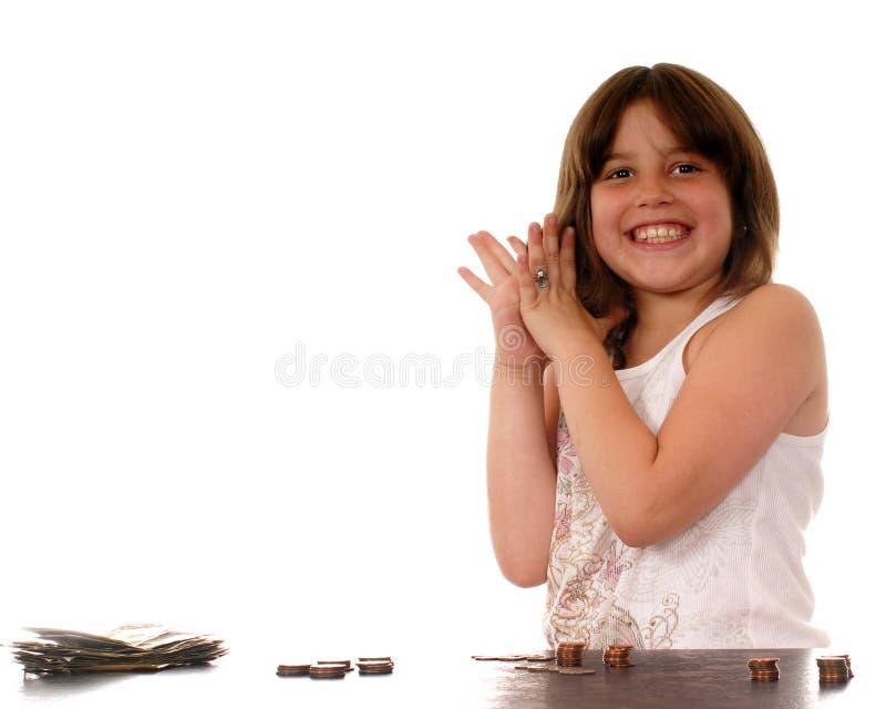 finansiell fröjd arkivfoton