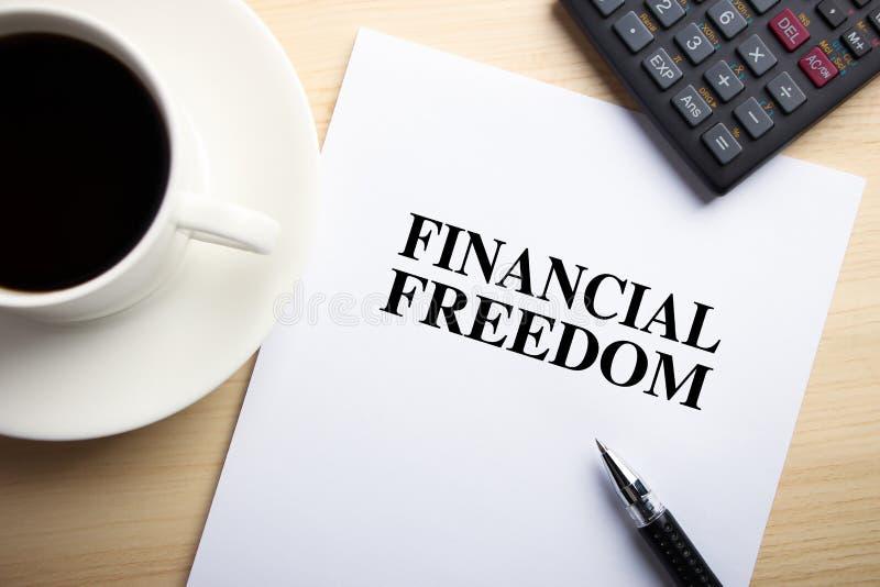 Finansiell frihet royaltyfria bilder