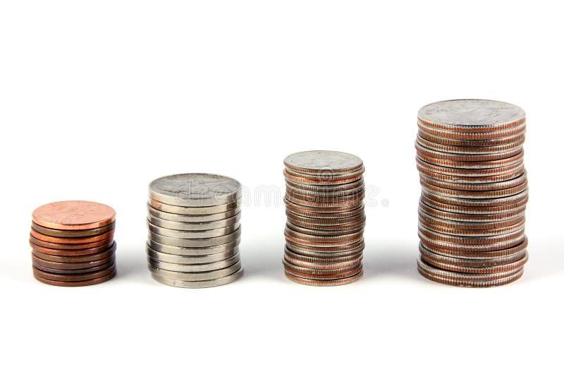 finansiell gain arkivfoton