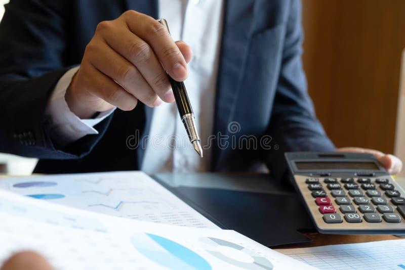 Finansiell inledning f?r cousultation f?r aff?r f?r revisorstadsplanerarem?te arkivfoton