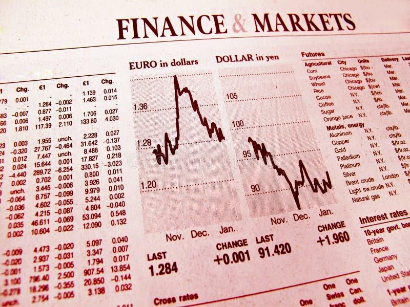 finansiell kris royaltyfri bild