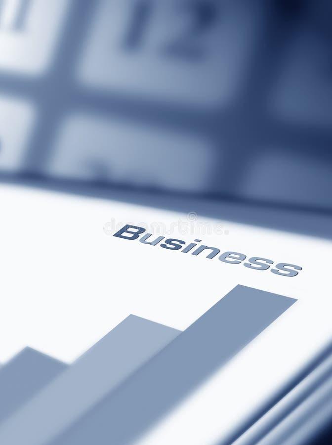 finansiell rapport stock illustrationer