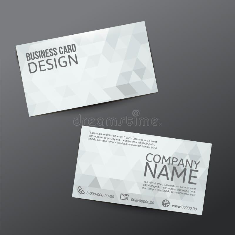 finansiell serie för affärskort royaltyfri illustrationer