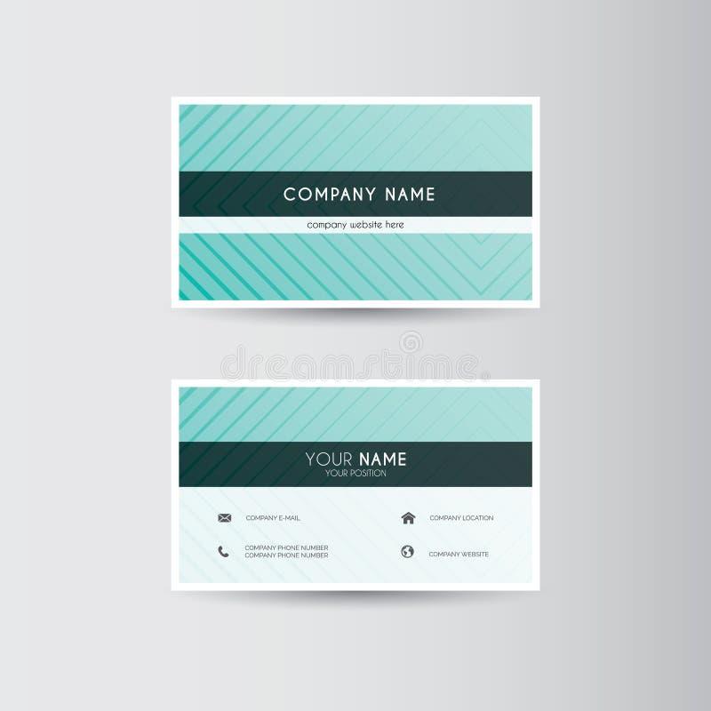 finansiell serie för affärskort vektor illustrationer