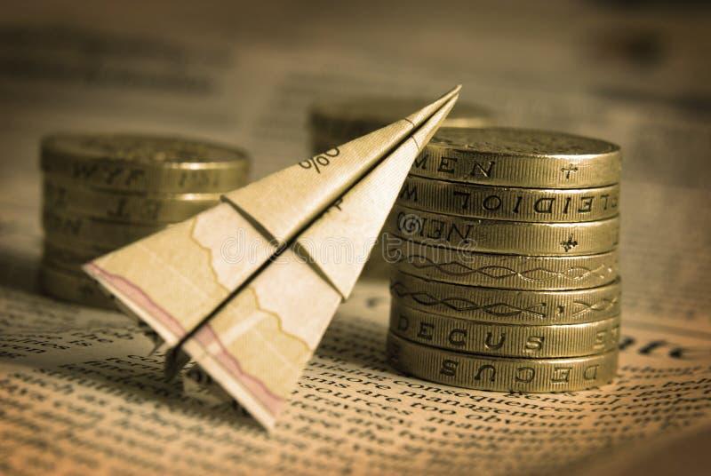 finansiellt begrepp royaltyfri fotografi