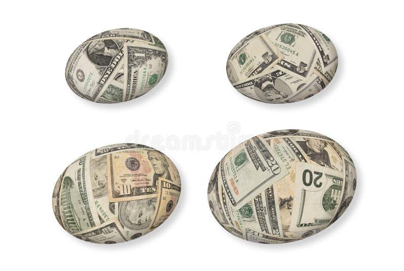 finansiellt rede för ägg royaltyfria foton