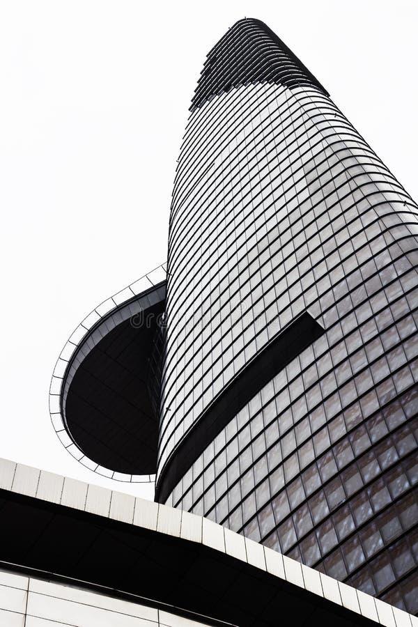 finansiellt torn för bitexco arkivbild