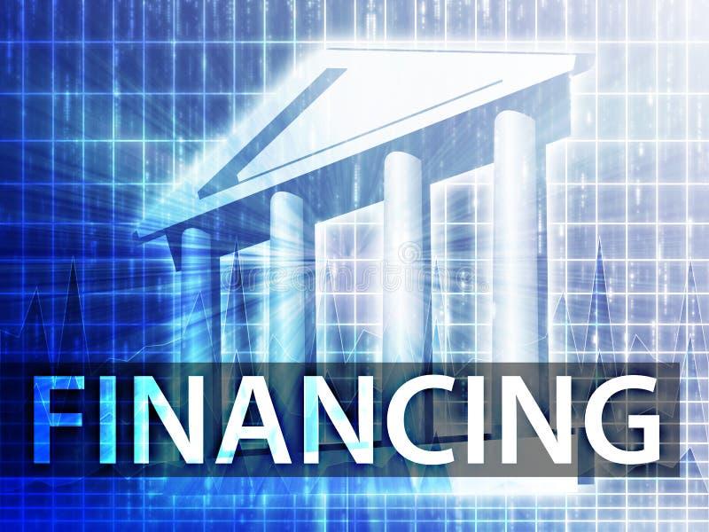 finansieringillustration vektor illustrationer