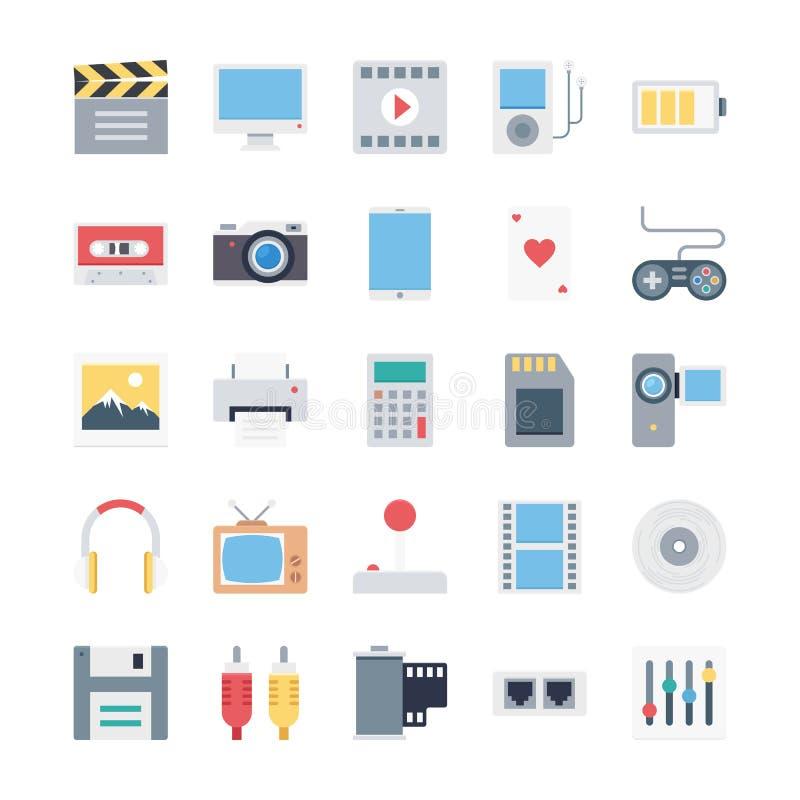 Finansowe Isometric Wektorowe ikony fotografia royalty free