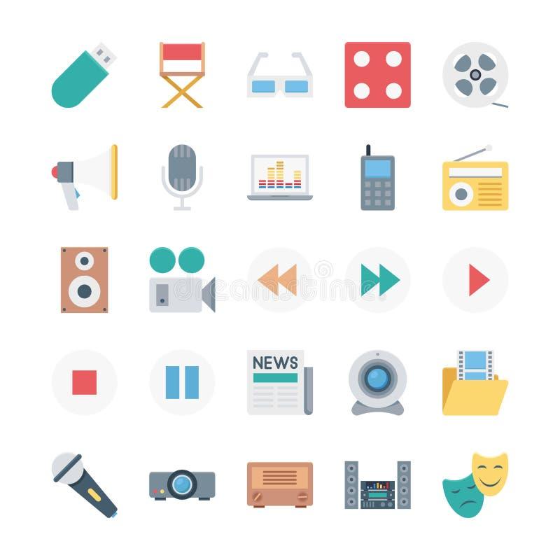 Finansowe Isometric Wektorowe ikony obraz royalty free