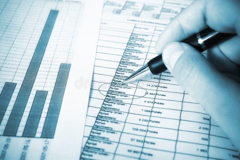 finansowe serie zdjęcia stock
