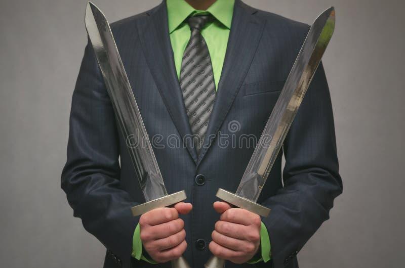 Finansowy asekuracyjny agent Agenta ochrony pojęcie obraz stock