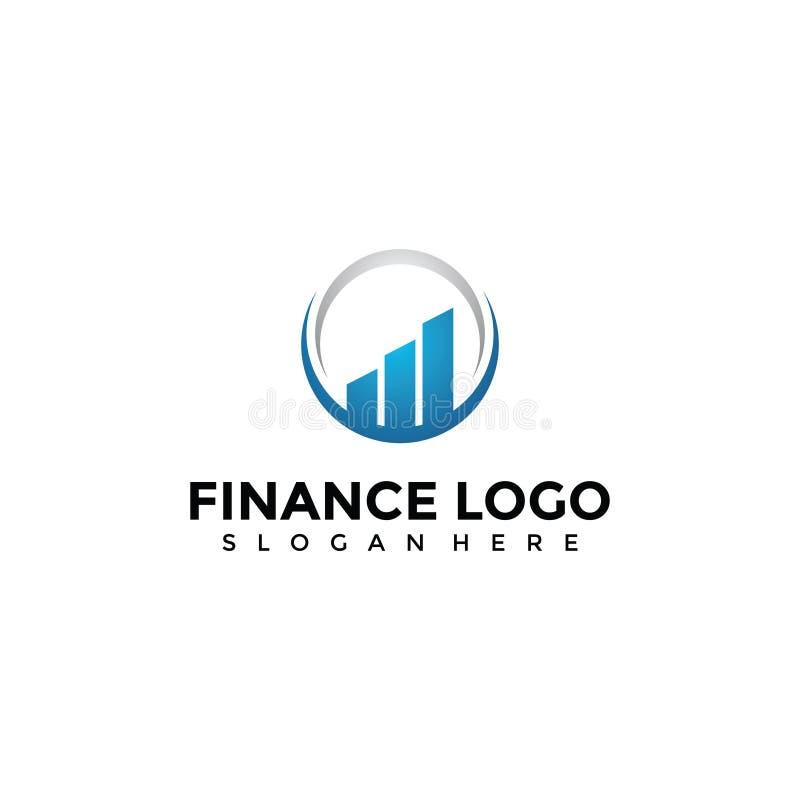 Finansowy loga szablon Wektorowy ilustrator EPS 10