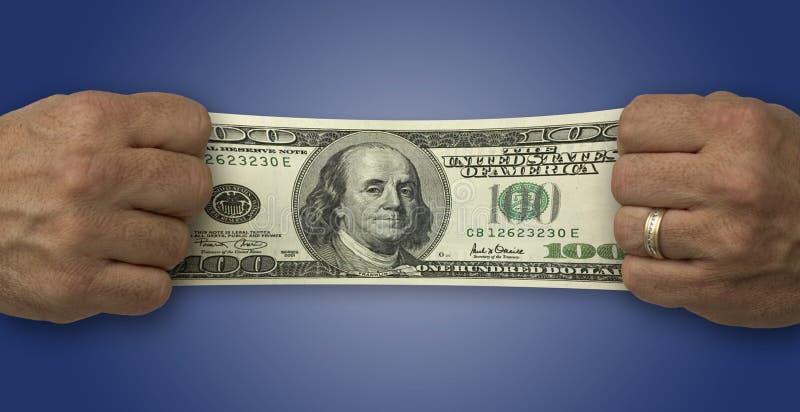 finansowy pieniądze fotografia stock
