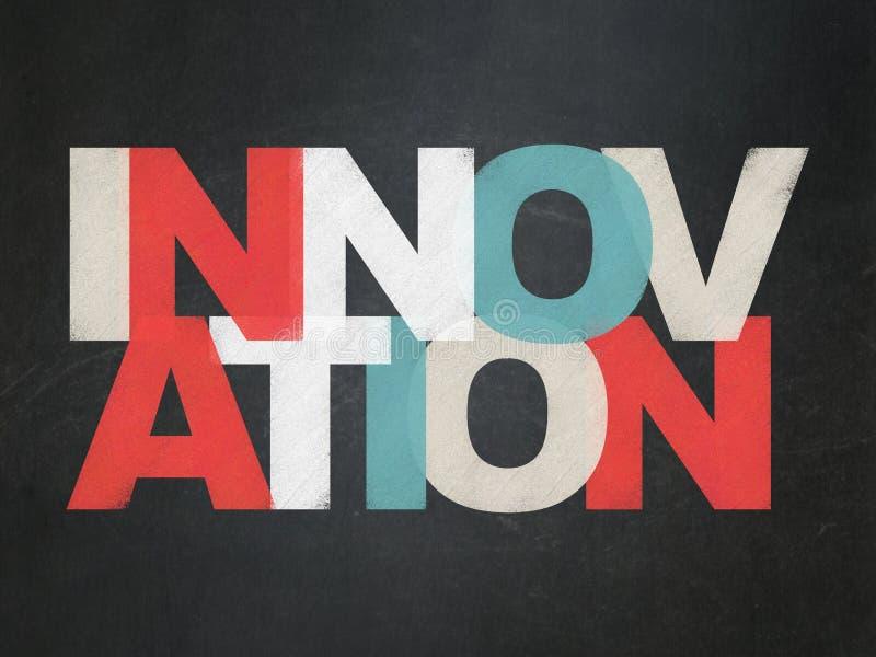 Finansowy pojęcie: Innowacja na zarządzie szkoły ilustracja wektor