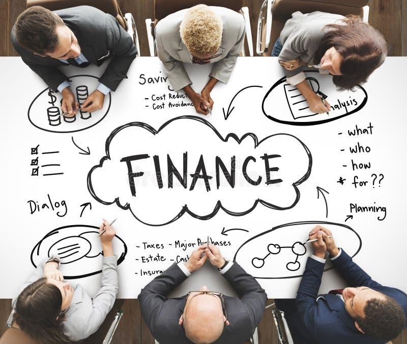 Finansowy przychodu bogactwo Inwestuje wartości pojęcie zdjęcie stock