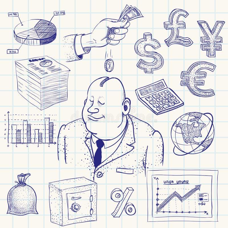 finanza royalty illustrazione gratis