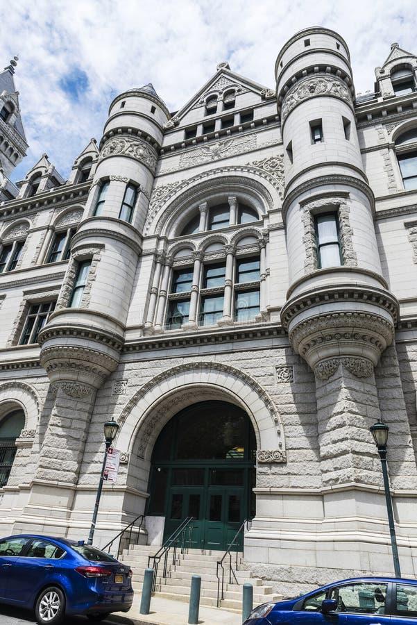 Finanzas del departamento en New York City, los E.E.U.U. imágenes de archivo libres de regalías
