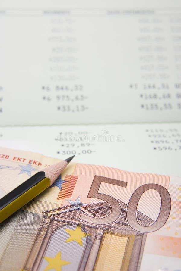 Finanzas del dinero imagen de archivo libre de regalías