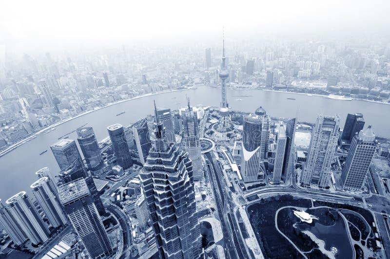 Finanzas del lujiazui de Shangai foto de archivo libre de regalías