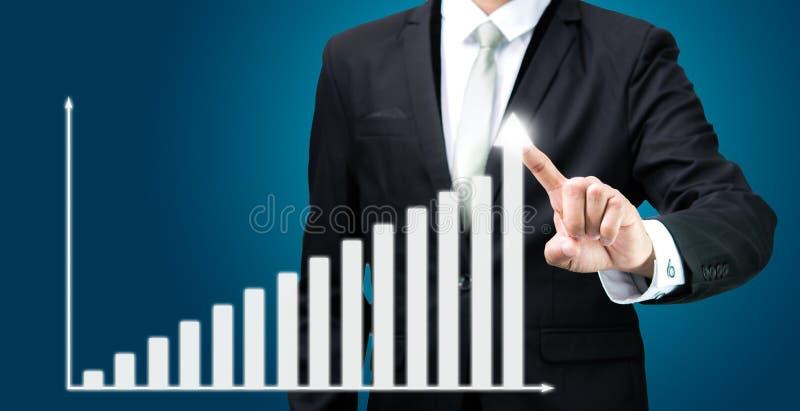 Download Finanzas Derechas Del Gráfico Del Tacto De La Mano De La Postura Del Hombre De Negocios Aisladas Imagen de archivo - Imagen de finanzas, maestría: 42439813