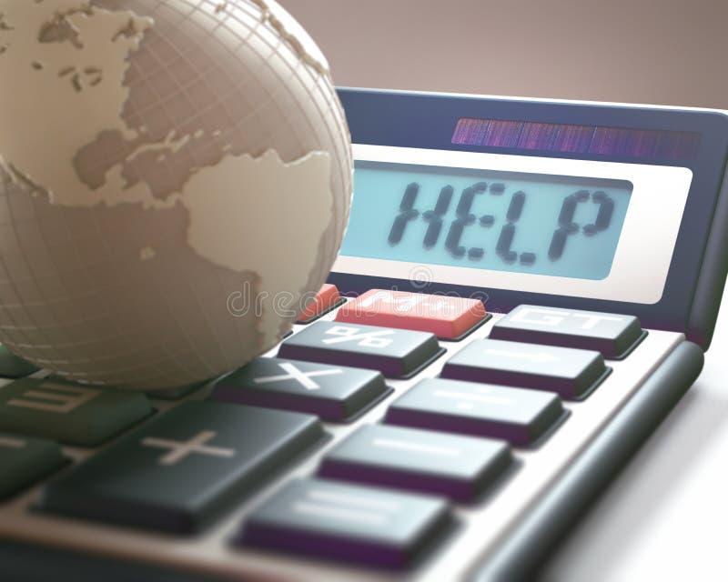 Finanzas y negocio globales libre illustration