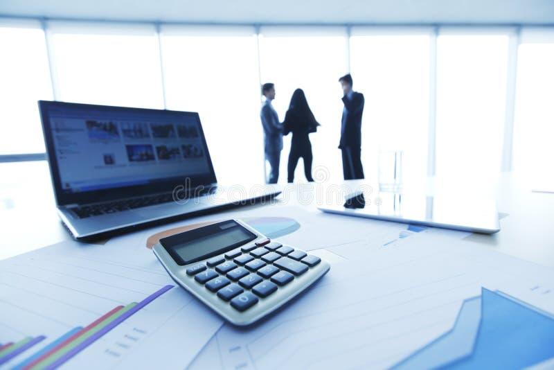 Finanzberichte stockbild