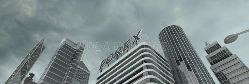 Finanzbezirk stockfoto
