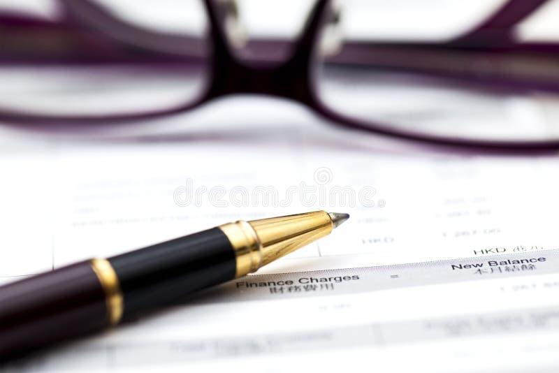 Finanzbuchhaltung lizenzfreies stockfoto