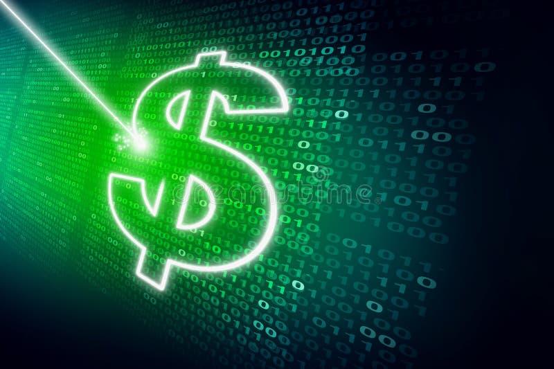 Finanzdatenkonzept lizenzfreie abbildung