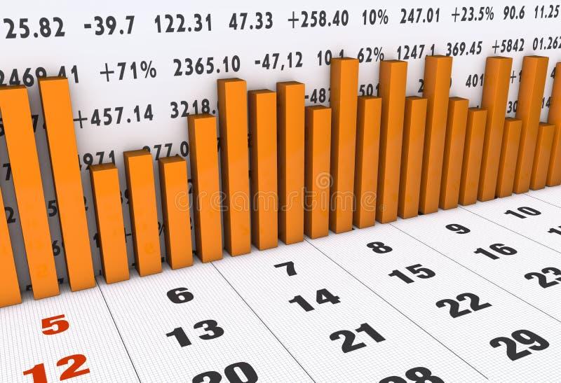 Download Finanzdiagramm stock abbildung. Illustration von diagramm - 26374481