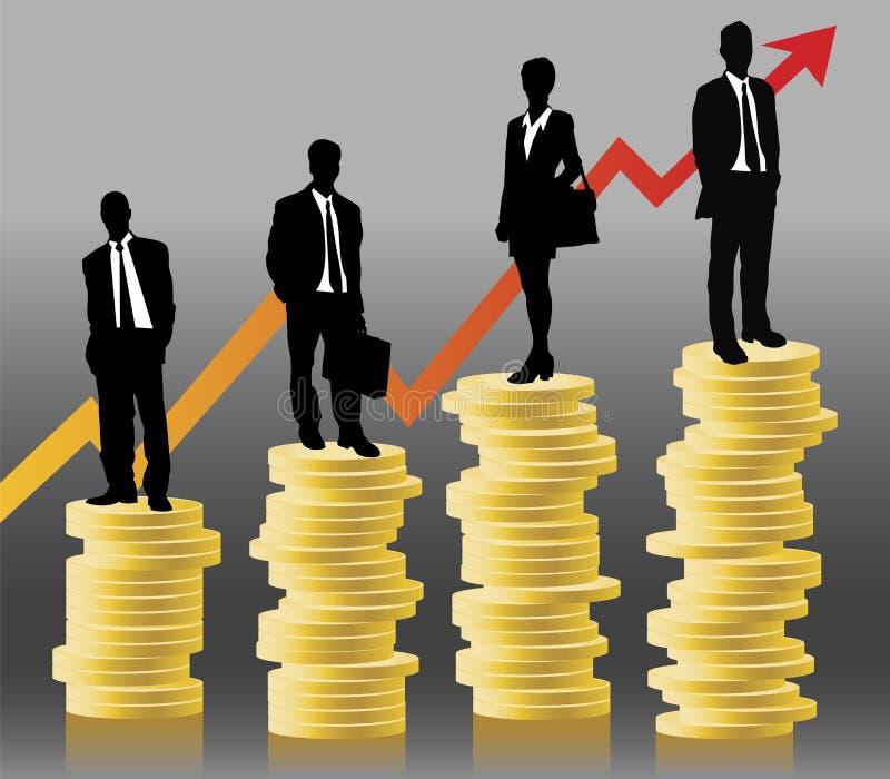 Finanze illustrazione vettoriale