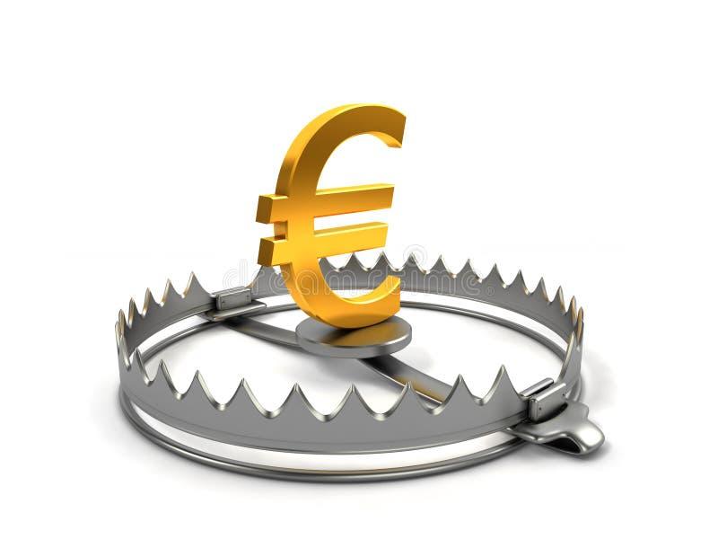 Finanzgefahrkonzept lizenzfreie abbildung