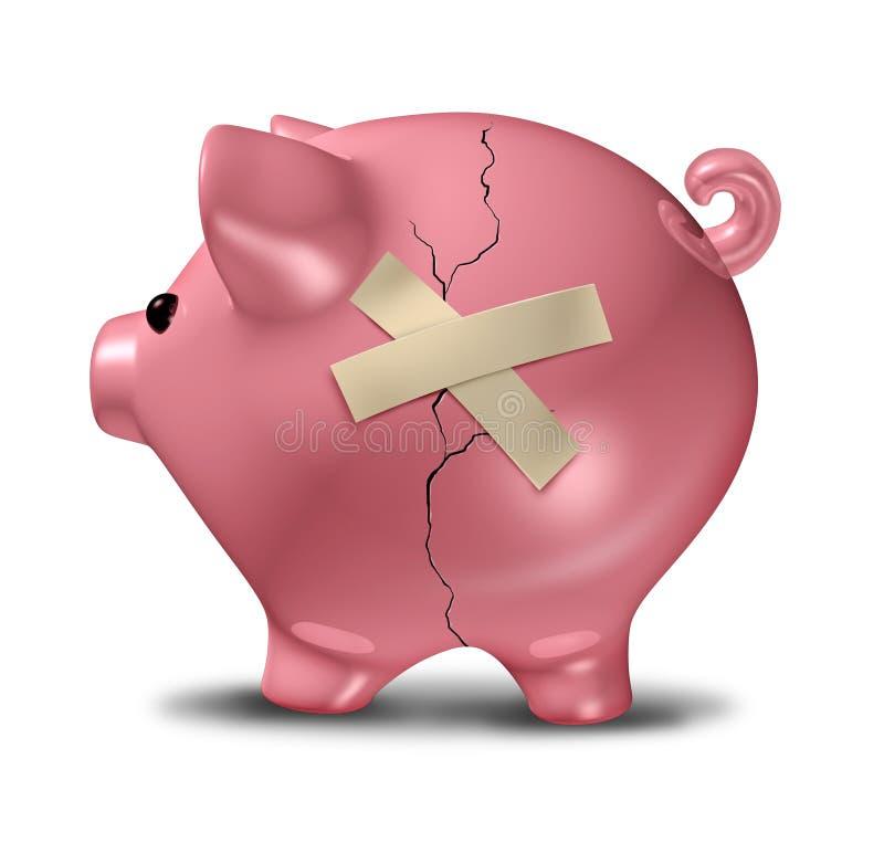 Finanzhilfe vektor abbildung