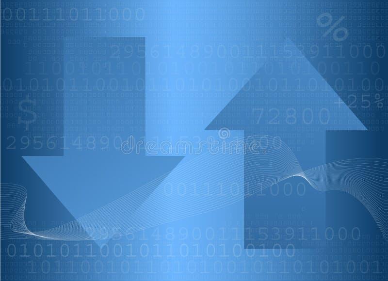 Finanzhintergrund lizenzfreie stockbilder