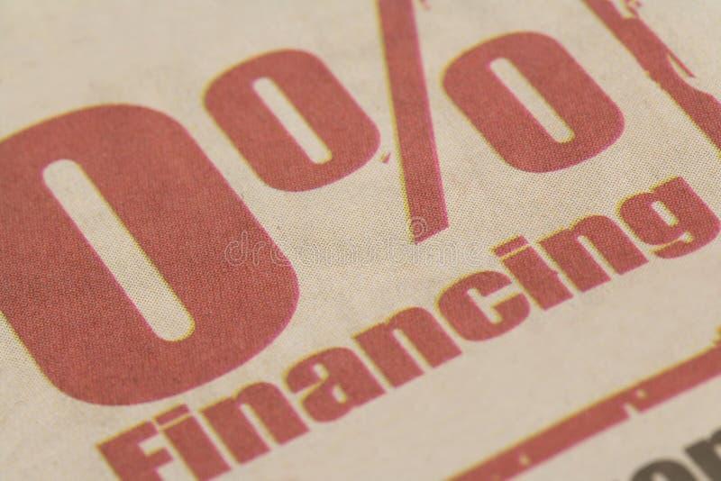 Finanziamento fotografia stock