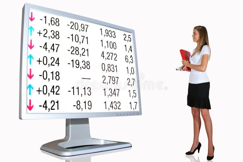 Finanzielle Investition lizenzfreies stockbild