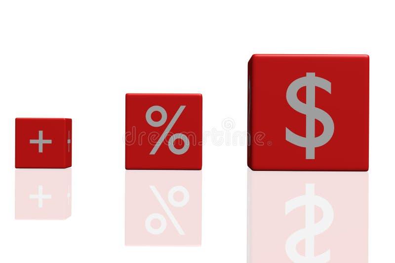 Finanzierung stock abbildung