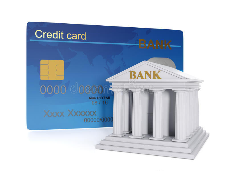 Finanzierung und Gutschrift lizenzfreie abbildung